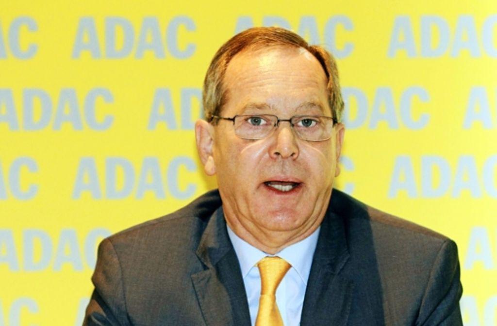 Der ADAC-Präsident Peter Meyer lehnt einen Rücktritt ab. Foto: dpa-Zentralbild