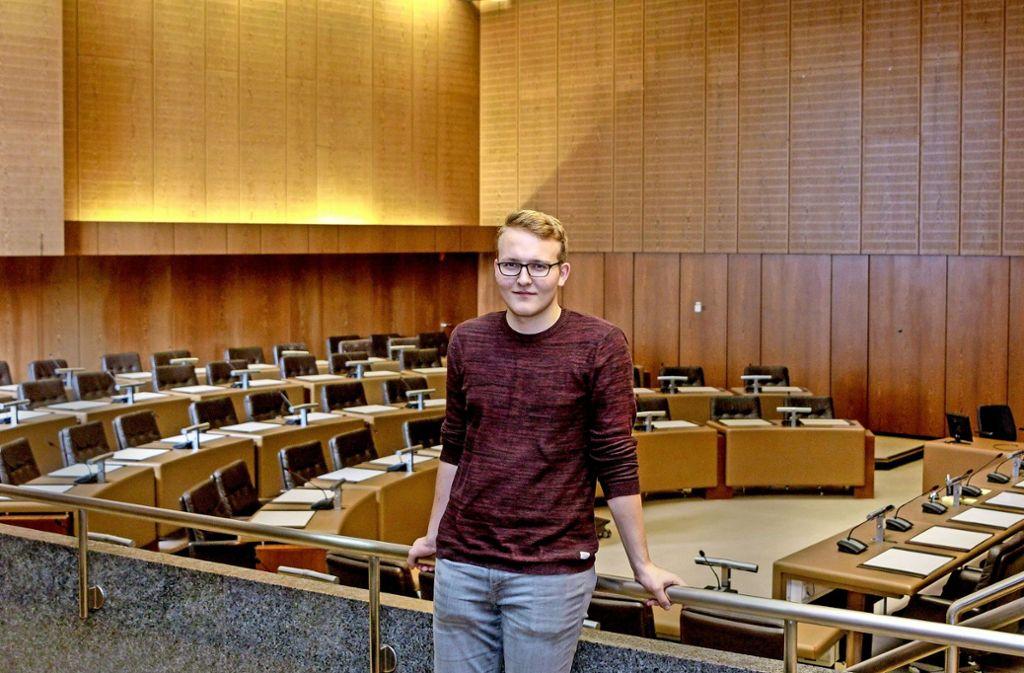 Der große Sitzungssaal im Rathaus:  Martin  Wenger und seine Mitstreiter tagen  mindestens fünf  Mal  im Jahr öffentlich.Foto:factum/Bach Foto: