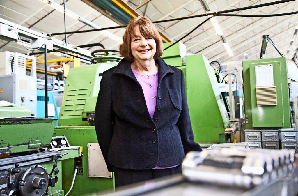 Seit 48 Jahren steht Brigitte Vöster-Alber an der Spitze des Familienunternehmens Geze. 1068 übernahm sie die Leitung im Alter von 24 Jahren (rechts). Foto: privat