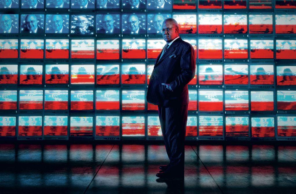 """Der Medienmogul Roger Ailes, dargestellt von Schauspieler Russell Crowe in """"The loudest Voice"""" Foto: Showtime"""