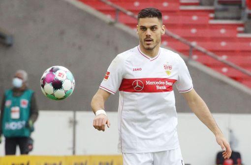Dinos Mavropanos fehlt dem VfB gegen den VfL Wolfsburg