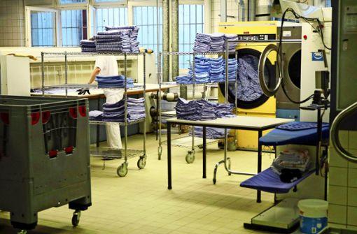 Mehr als 3000 Kilogramm Wäsche in der Woche