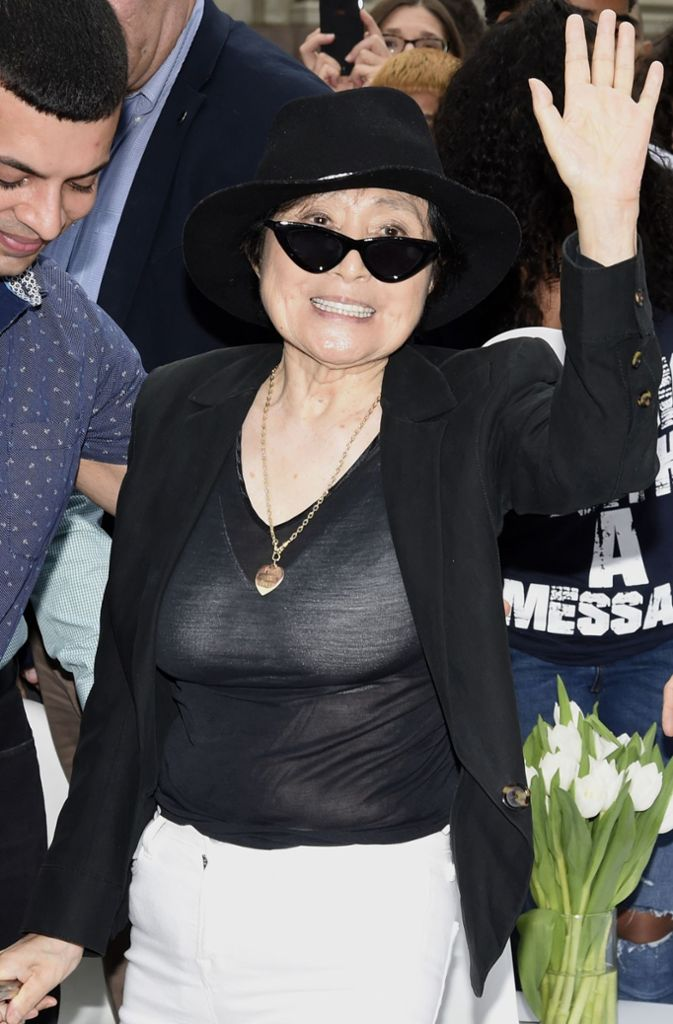 Yoko Ono ist Künstlerin, Musikerin, Sängerin und Filmemacherin.    Foto: Getty Images North America