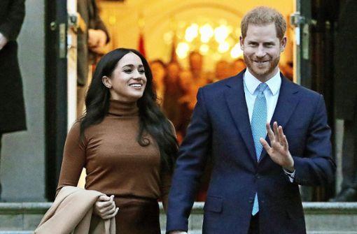 44 Prozent der Briten für Titel-Entzug von Harry und Meghan