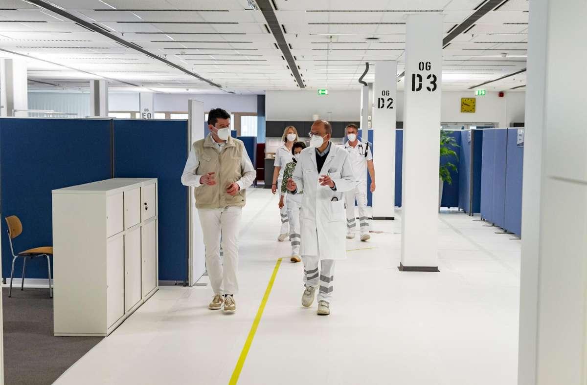 Daimler will pro Tag mehr als 3000 Mitarbeiter impfen. Foto: Daimler AG