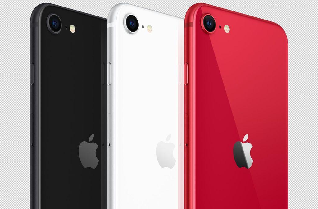 Mit dem neuen iPhone SE tritt Apple für seine Verhältnisse preisaggressiv auf. Foto: dpa/---