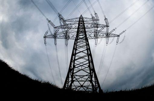 Stromausfall wegen  Sturmtiefs