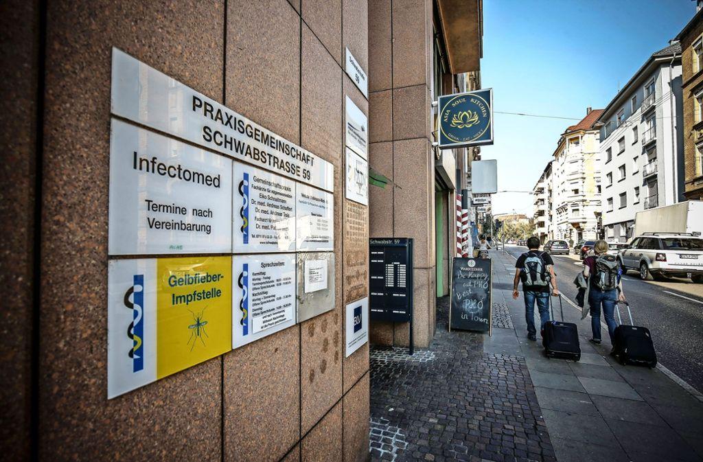 Die Tage der Substitutionspraxis an der Schwabstraße im Stuttgarter Westen sind gezählt. Foto: Lichtgut/Leif Piechowski