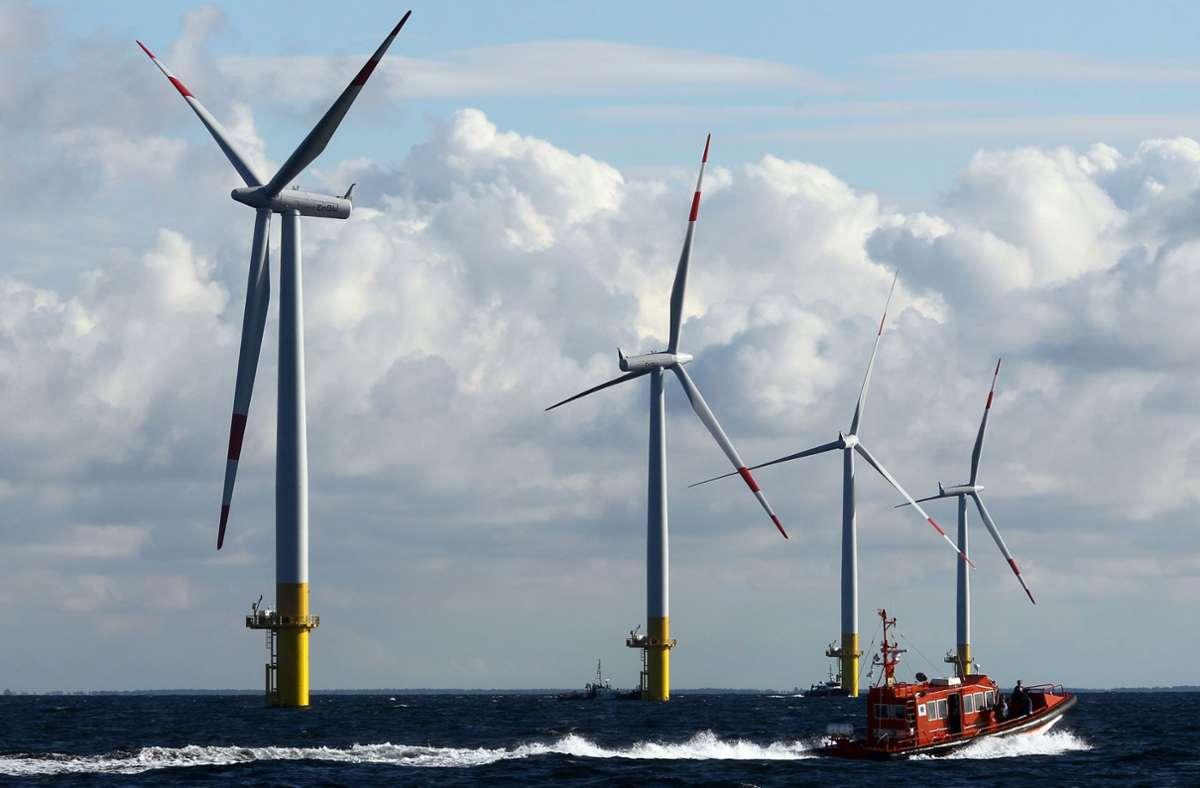 Vor allem die erneuerbare Energien sorgen bei EnBW für ein Plus. Foto: picture alliance / dpa/Bernd Wüstneck
