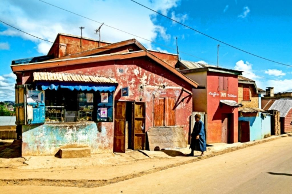 Viele verwahrloste Wohngebiete von Antananarivo bieten ideale Voraussetzungen zur Verbreitung der Pest. Foto: picture alliance