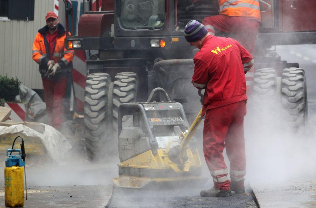 Die Bauarbeiten in der Berliner Straße beginnen am Montag. Foto: dpa