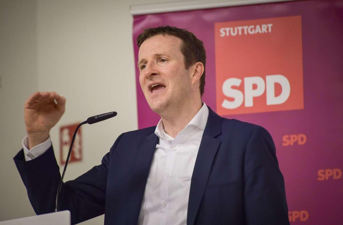 Spendabel: SPD-Kandidat Martin Körner. Foto: Lichtgut/Ferdinando Iannone