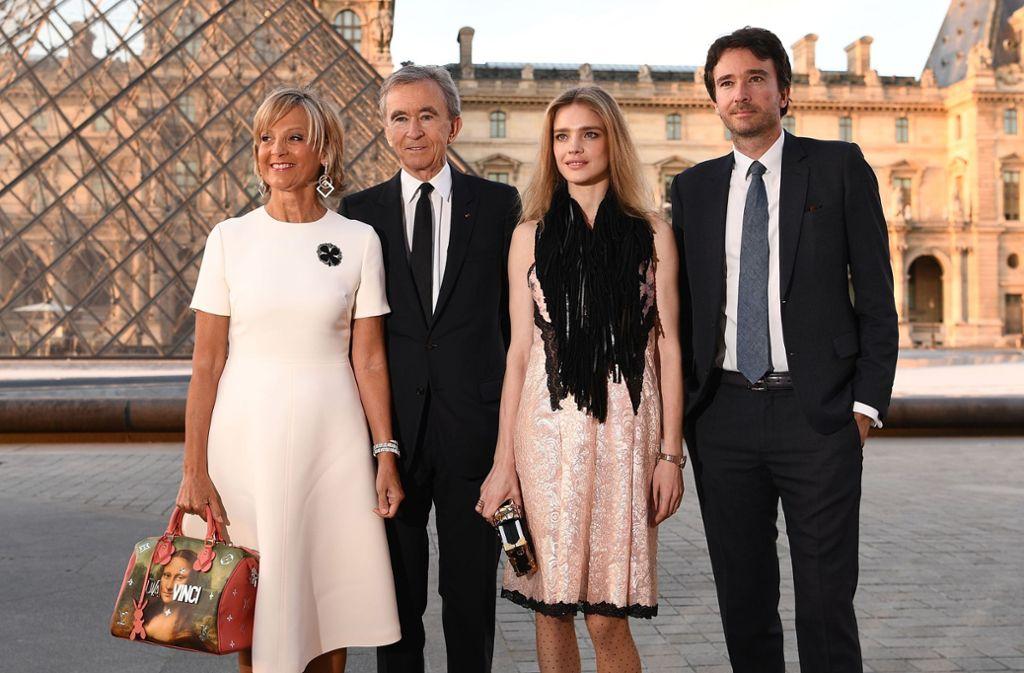 In Paris zeigen sich die Schönen und Reichen gerne mit teuren Accessoires. Foto: AFP