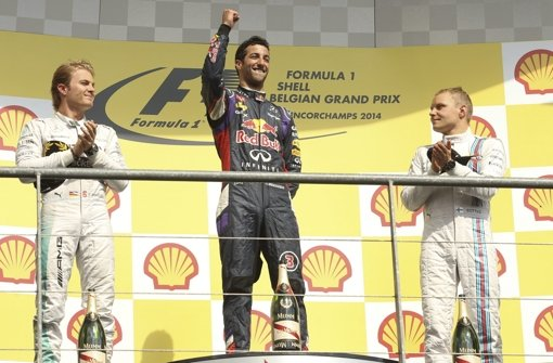 Ricciardo triumphiert bei Spa-Spektakel