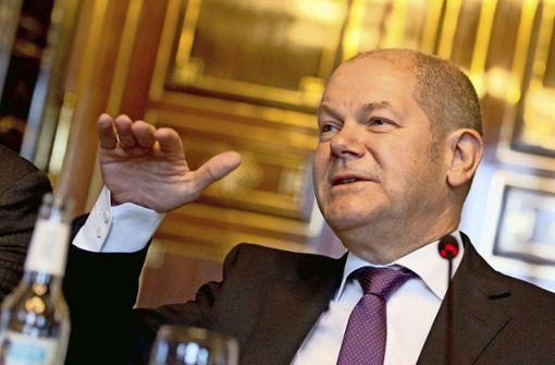 Olaf Scholz holt Investmentbanker Jörg Kukies