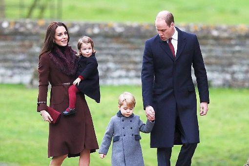 So feiern Queen, Kate und William