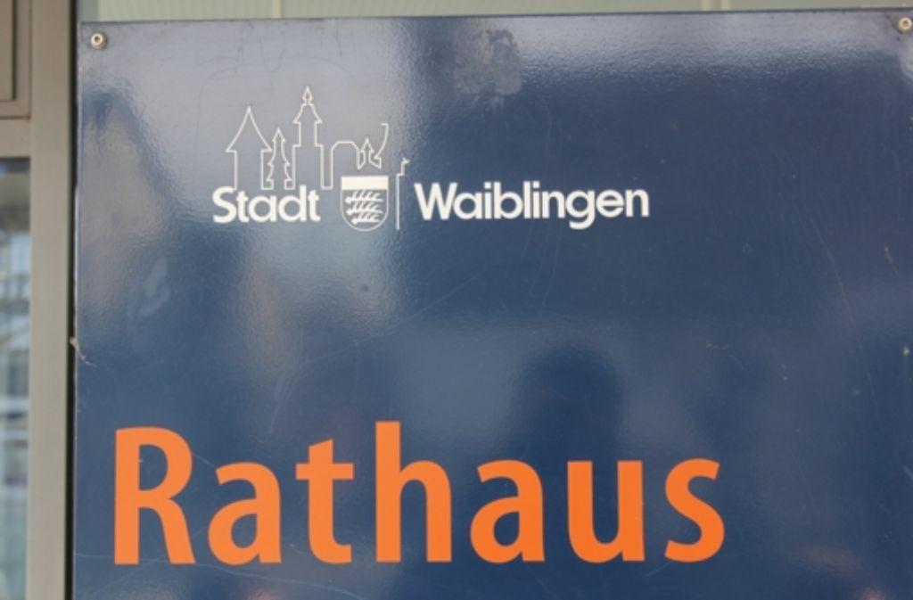 Im Waiblinger Rathaus ist in Sachen Zensusklage einiges schief gelaufen. Foto: Pascal Thiel