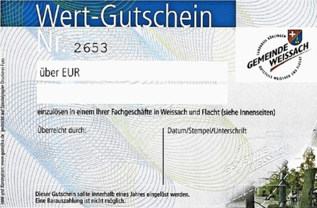 Rathausmitarbeiter haben Einkaufgutscheine erhalten – ohne Gegenleistung. Foto: Weissach