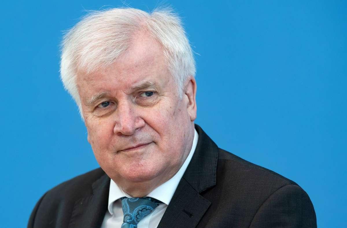 Bundesinnenminister Horst Seehofer (CSU). (Archivbild) Foto: dpa/Bernd von Jutrczenka