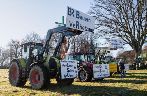 Streit über radikale Bauern