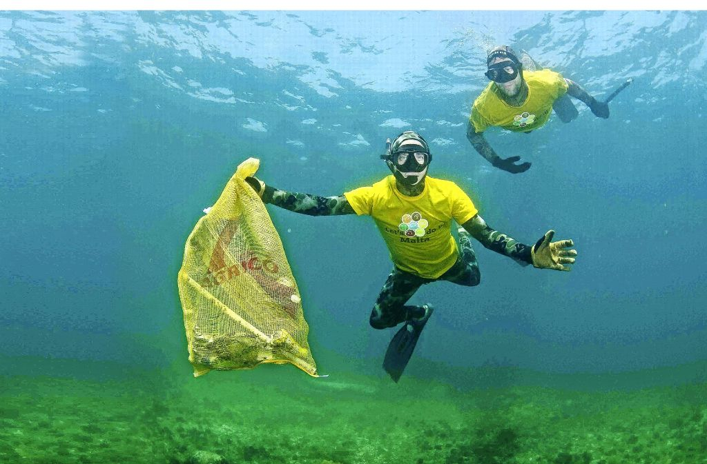 Eine fatale Geschichte: Plastik im Ozean Foto: Naturvision