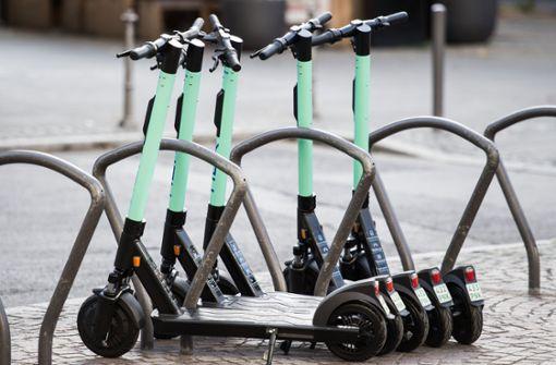 E-Scooter rollen in Stuttgart nur langsam an