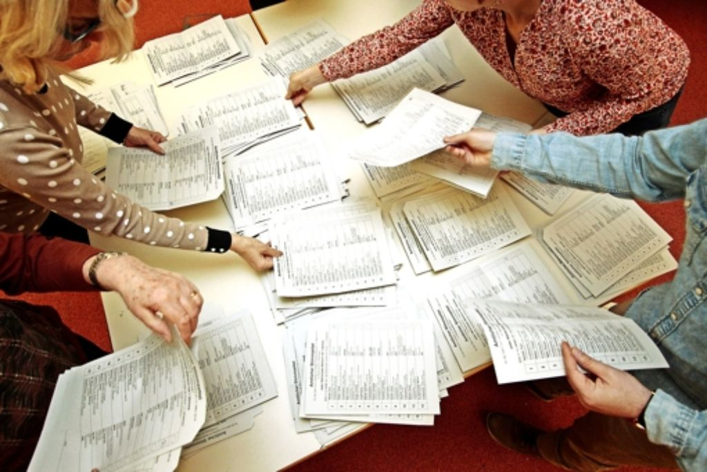Die Wähler haben entschieden: Nur  Paul Nemeth (CDU) erhielt im Wahlkreis 5 ein Zweitmandat. Foto: factum/Granville