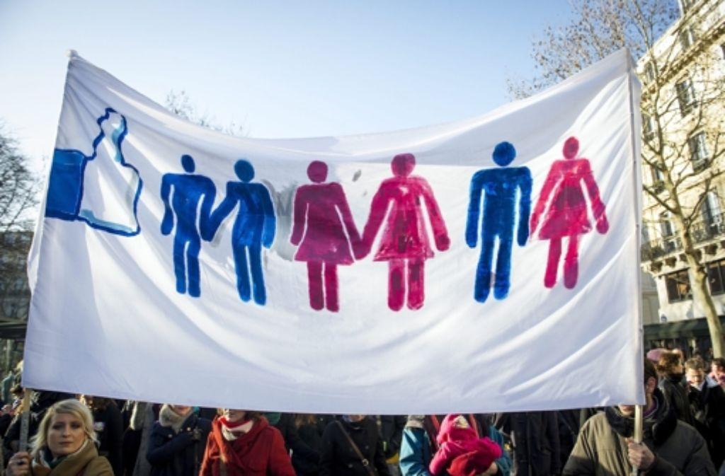 Zur Homo-Ehe gibt es einen neuen Gesetzentwurf.  Foto: EPA