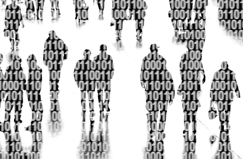 Die Welt der  Computer besteht  aus Einsen und Nullen – bald auch  Kleidung? Foto: imago/Ralph Peters