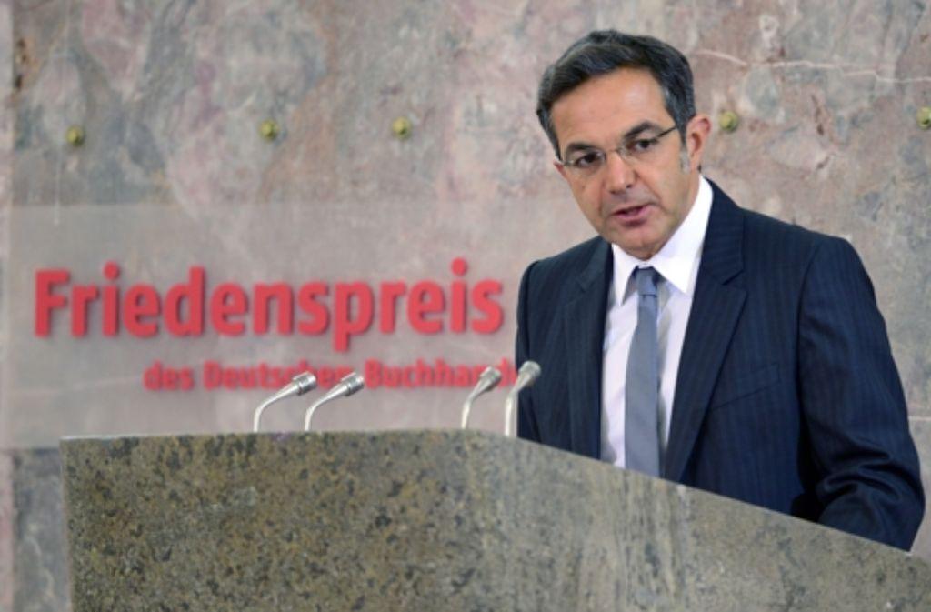 Navid Kermani ist Träger des diesjährigen Friedenspreises des deutschen Buchhandels Foto: Getty Images Europe