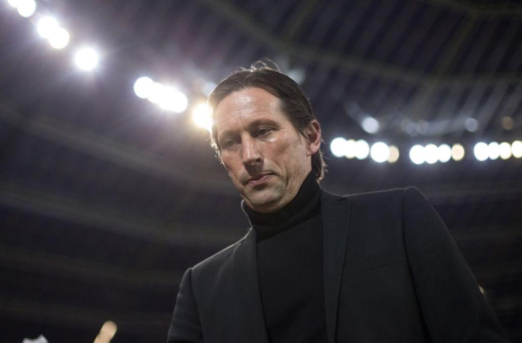 Leverkusen-Trainer Roger Schmidt ist für drei Spiele gesperrt. Foto: dpa