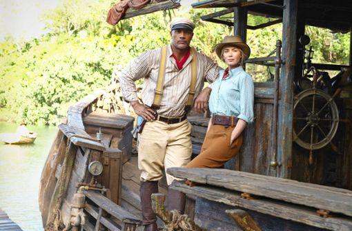 Abenteuerspaß mit Emily Blunt und Dwayne Johnson