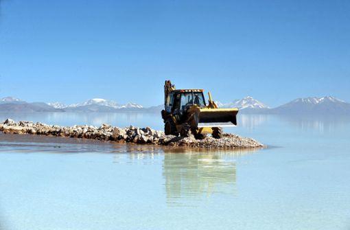 Die  Jagd nach dem Schatz im Salzsee