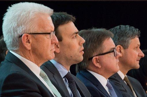 Ministerpräsident Winfried Kretschmann ist weiter beliebt. Foto: Lichtgut/Leif Piechowski