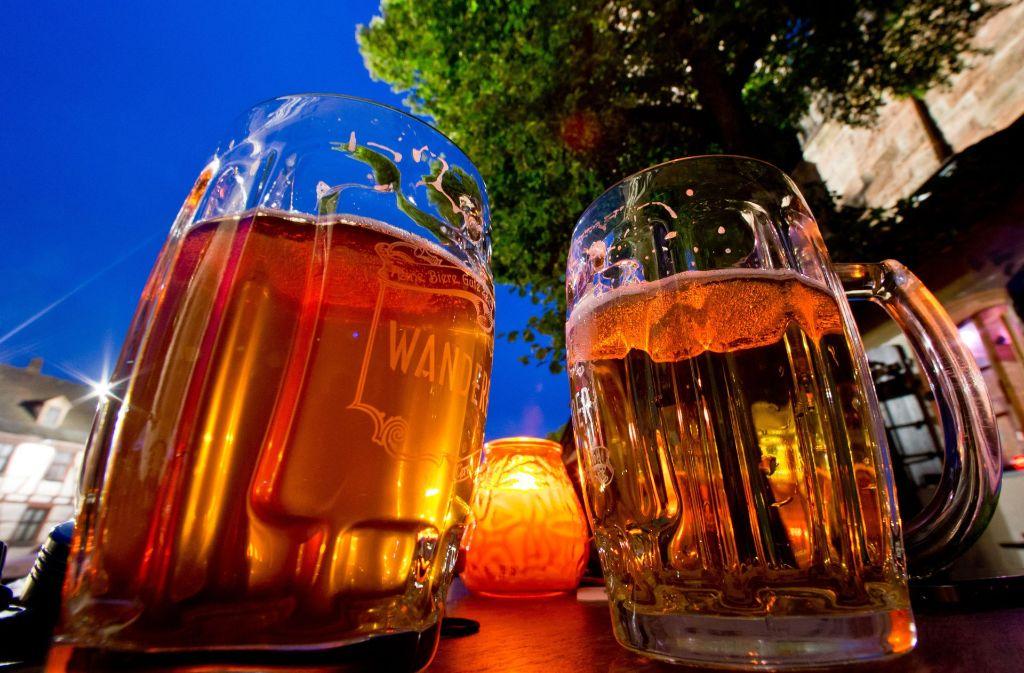 Europameister im Biertrinken sind die Tschechen mit 143 Litern pro Kopf und Jahr (Stand: 2015). Foto: dpa