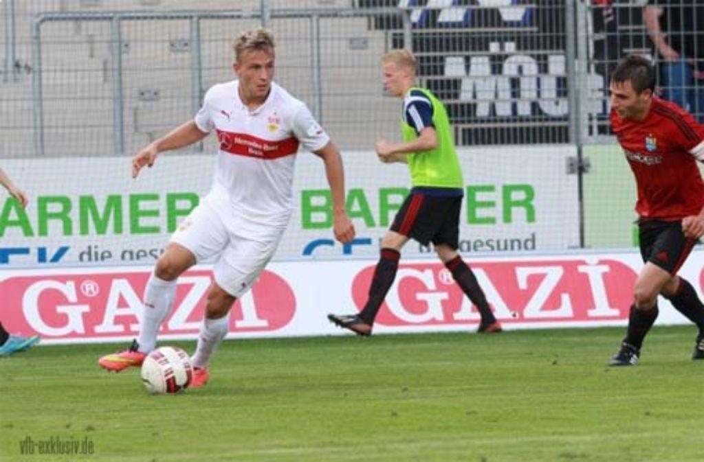 Felix Lohkemper (links) wurde für die DFB U20 nominiert. Foto: Lommel