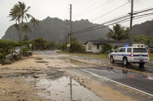 """Wirbelsturm erreicht Hawaii – """"Hanna""""-Notstand in Texas"""
