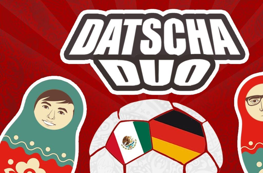 Datscha Duo – der WM-Podcast unserer Redaktion. Foto: STZN
