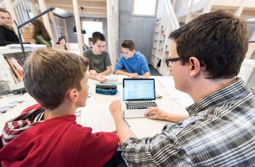Die Digitalisierung der Schulen kostet Millionen. Die Bundeszuschüsse sind noch nicht fixiert.. Foto: dpa