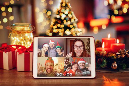 Vorschaubild zum Artikel Weihnachten virtuell feiern