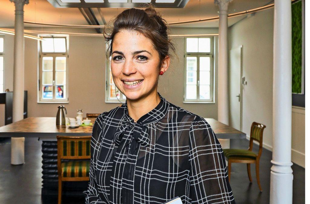 Theresa Stadelmaier  will Schwung in den Markt8 bringen. Foto: factum/Simon Granville