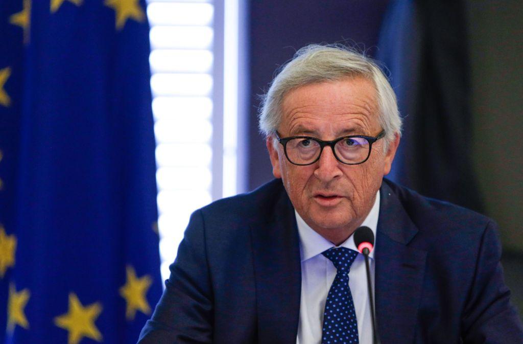 EU-Kommissionspräsident Jean-Claude Juncker Foto: POOL