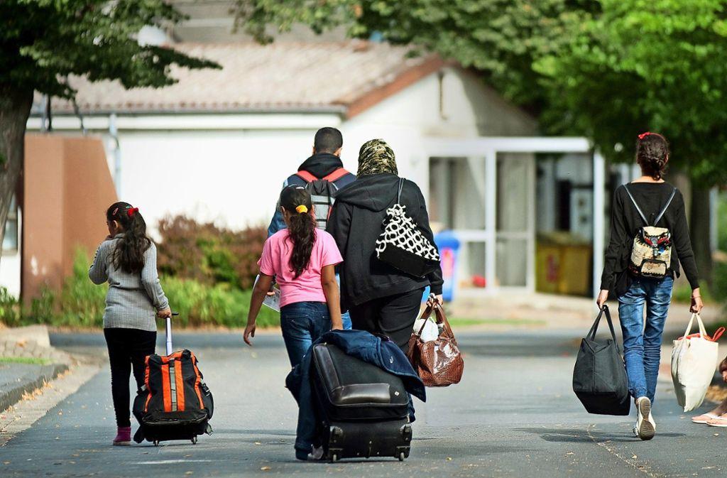 Für geflüchtete Familien ist der Wohnungsmarkt besonders prekär. Foto: dpa/Swen Pförtner