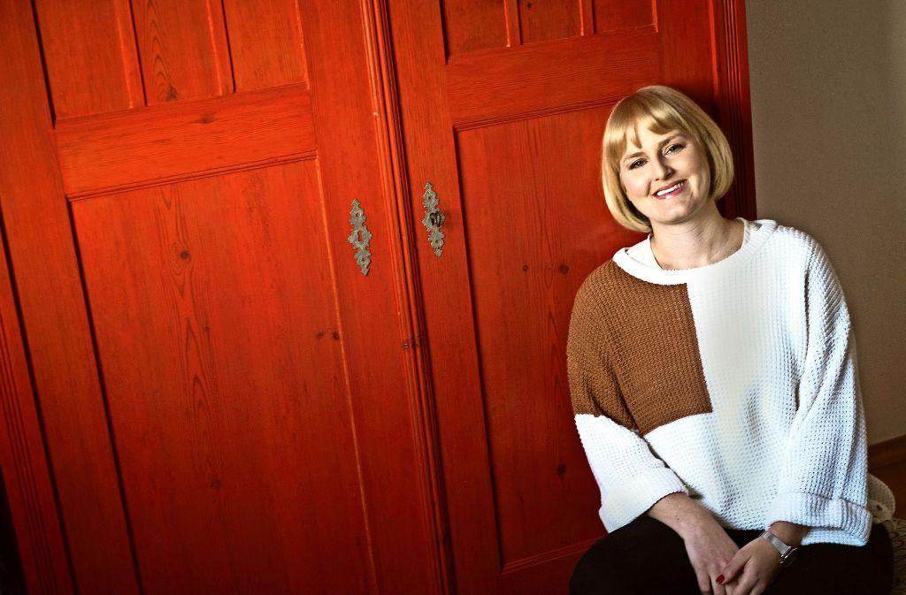 Der Schrank von Jasmin Schlaich soll für immer rot bleiben. Foto: Lichtgut/Max Kovalenko