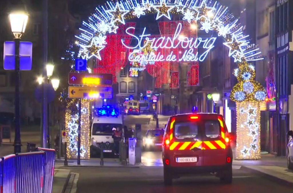 Der Weihnachtsmarkt in Straßburg ist Ziel eines Anschlags gewesen. Foto: AP