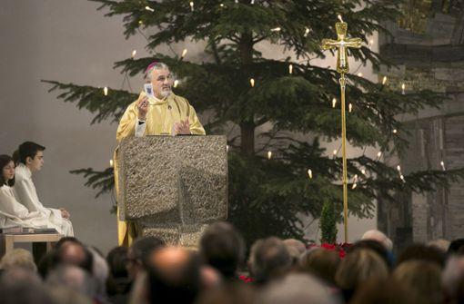 Konkathedrale St. Eberhard zu Weihnachten voll besetzt