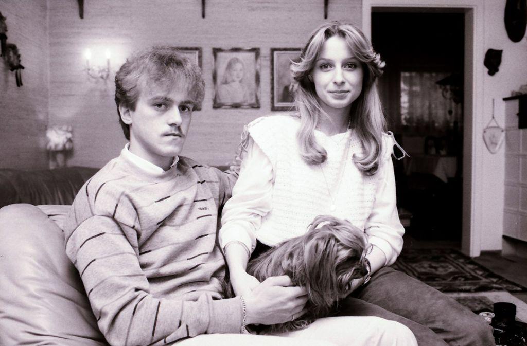 Paarbild mit Hund aus den 1980er Jahren: Auch Günther Schäfer ist Teil der Top Ten. Foto: Baumann