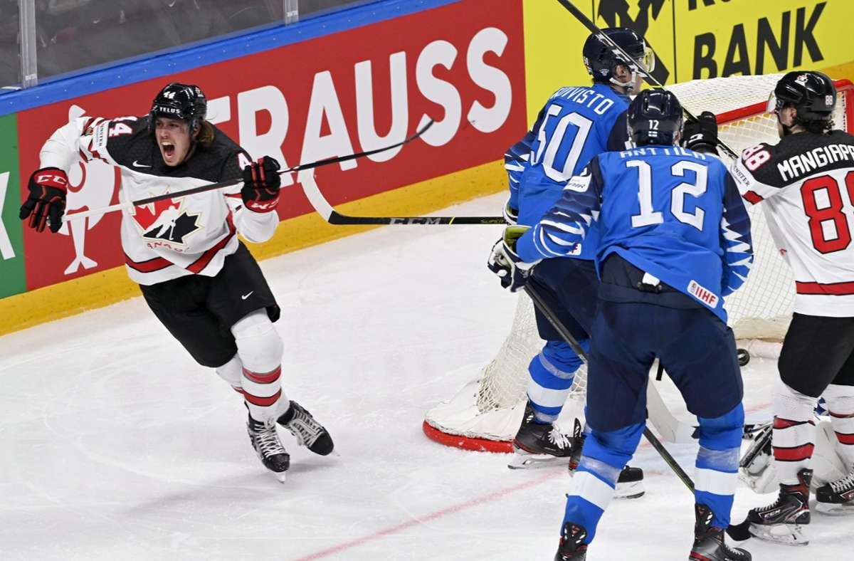 Kanada triumphiert bei der Eishockey-WM. Foto: dpa/Jussi Nukari