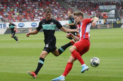 Kann der 1. FC Heidenheim den VfB erneut  ärgern?