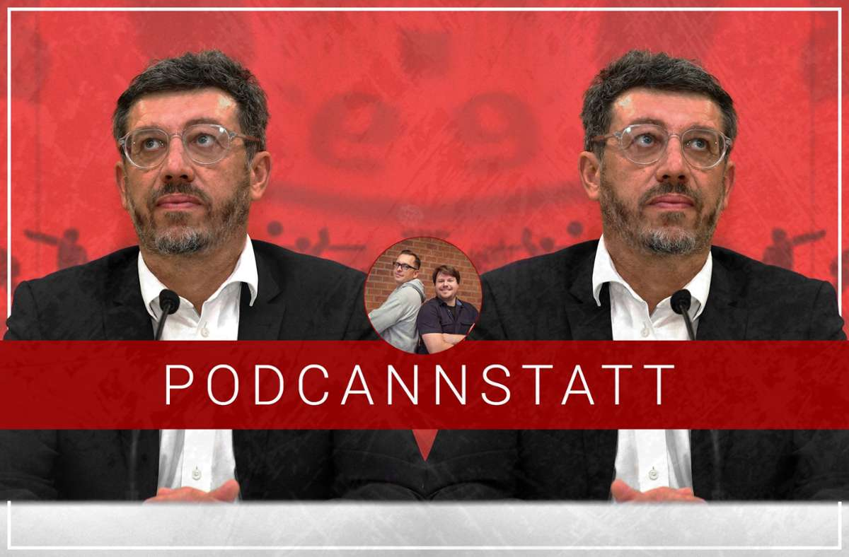 VfB-Präsident Claus Vogt hat viel aufzuklären – und eine große Chance. Foto: StZN/Baumann